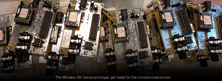 Xth Sense (TM) Wireless Prototype