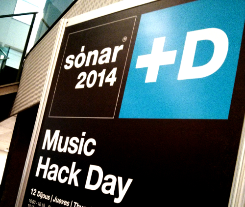 Xth Sense at Sònar+D Music Hack Day Barcelona 2014